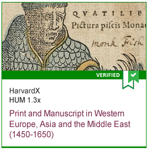 HUM 1.3x Print and Manuscript in Western Europe, Asia and the Middle East (1450-1650)