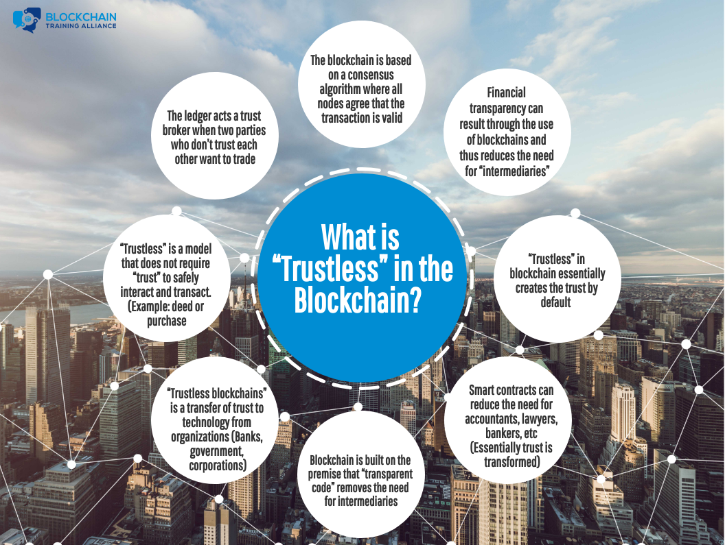 What is Trustless in a Blockchain
