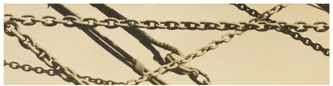 Detail of Mooring Chains