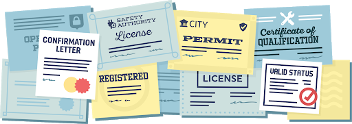 Examples of Paper Credentials