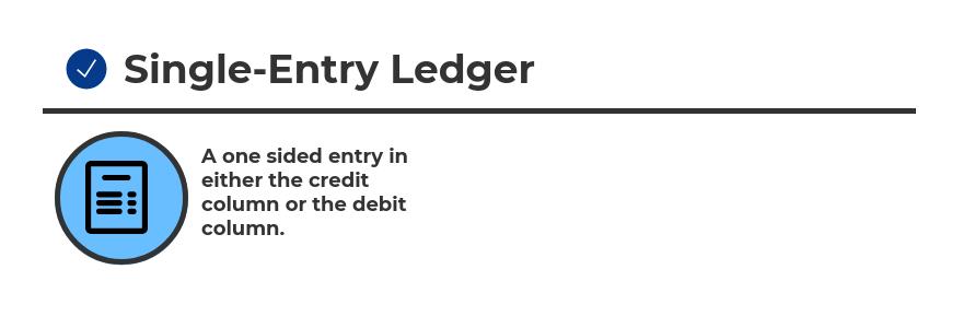 Single Entry Ledger