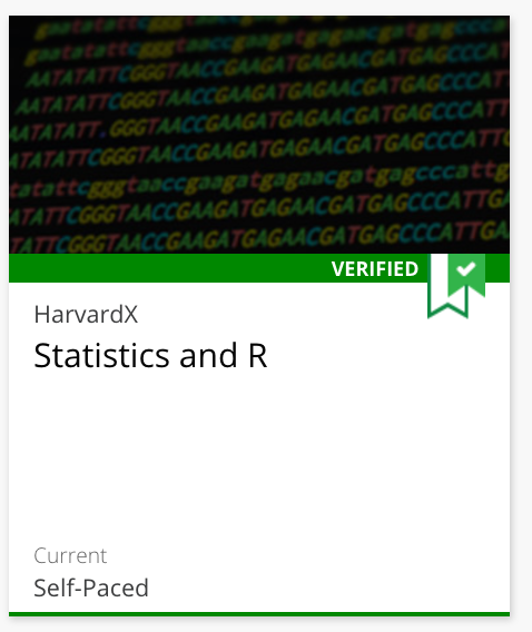 Course 1: Statistics and R