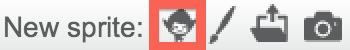 New Sprite Button