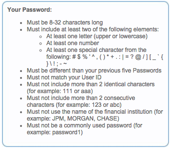 User ID and Passwords Are a Pain to User