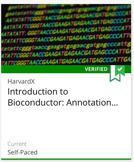 Course 5: Introduction to Bioconductor