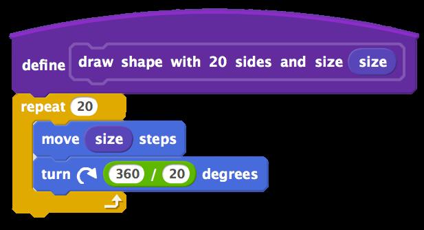 20 shape