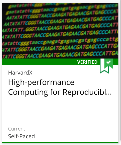 Data Analysis for Life Sciences 6: High-performance Computing for Reproducible Genomics